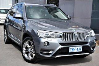 2017 BMW X3 F25 LCI xDrive20d Steptronic Grey 8 Speed Automatic Wagon.