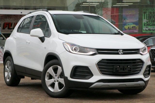 Used Holden Trax TJ MY20 LS Rosebery, 2019 Holden Trax TJ MY20 LS White 6 Speed Automatic Wagon