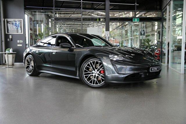 Used Porsche Taycan Y1A MY21 4S AWD North Melbourne, 2021 Porsche Taycan Y1A MY21 4S AWD Grey 2 Speed Automatic Sedan