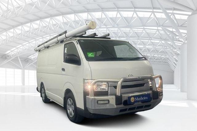Used Toyota HiAce KDH201R LWB Moorebank, 2015 Toyota HiAce KDH201R LWB Vanilla White 5 Speed Manual Van