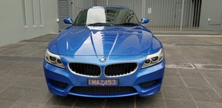 2016 BMW Z4 E89 MY16 sDrive 20i Edt M Sport Blue 8 Speed Automatic Roadster.