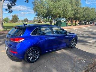2021 Hyundai i30 PD.V4 MY22 Elite Intense Blue 6 Speed Sports Automatic Hatchback