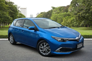2018 Toyota Corolla ZRE182R Ascent Sport S-CVT Blue 7 Speed Constant Variable Hatchback.