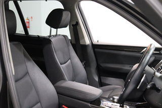 2015 BMW X3 F25 LCI xDrive20i Steptronic Black 8 Speed Automatic Wagon