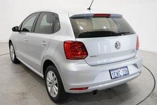 2015 Volkswagen Polo 6R MY15 81TSI DSG Comfortline Silver 7 Speed Sports Automatic Dual Clutch.