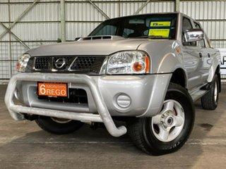 2012 Nissan Navara D22 S5 ST-R Silver 5 Speed Manual Utility.