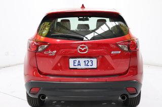 2014 Mazda CX-5 KE1032 Grand Touring SKYACTIV-Drive AWD Red 6 Speed Sports Automatic Wagon