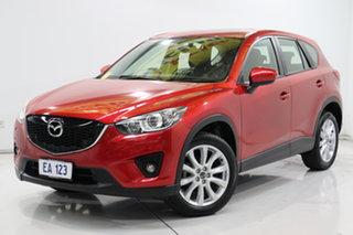 2014 Mazda CX-5 KE1032 Grand Touring SKYACTIV-Drive AWD Red 6 Speed Sports Automatic Wagon.