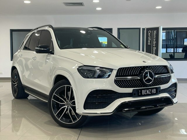Used Mercedes-Benz GLE-Class V167 GLE400 d 9G-Tronic 4MATIC Hervey Bay, 2019 Mercedes-Benz GLE-Class V167 GLE400 d 9G-Tronic 4MATIC White 9 Speed Sports Automatic Wagon