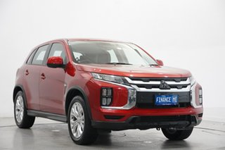 2019 Mitsubishi ASX XD MY20 ES 2WD Red 1 Speed Constant Variable Wagon