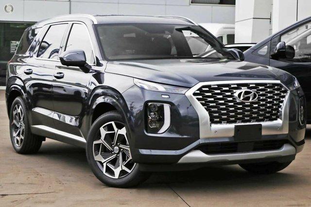 New Hyundai Palisade LX2.V2 MY22 Highlander 2WD Nailsworth, 2021 Hyundai Palisade LX2.V2 MY22 Highlander 2WD Steel Graphite 8 Speed Sports Automatic Wagon
