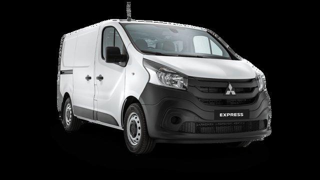 Demo Mitsubishi Express SN MY22 GLX SWB Hamilton, 2020 Mitsubishi Express SN MY22 GLX SWB White 6 Speed Manual Van