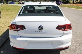 2021 Volkswagen Passat 3C (B8) MY21 140TSI DSG Business White 7 Speed Sports Automatic Dual Clutch.