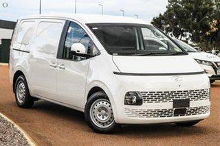 2021 Hyundai Staria-Load US4.V1 MY22 White 8 Speed Sports Automatic Van.