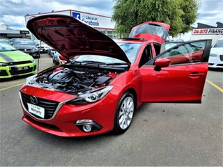 2013 Mazda 3 BM5438 SP25 SKYACTIV-Drive Red 6 Speed Sports Automatic Hatchback