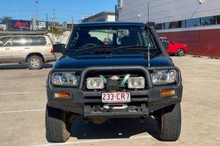 1999 Nissan Patrol GU ST (4x4) Green 5 Speed Manual 4x4 Wagon