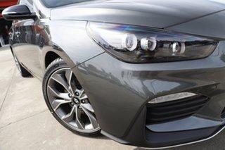 2021 Hyundai i30 PD.V4 MY22 N Line D-CT Amazon Gray 7 Speed Sports Automatic Dual Clutch Hatchback.