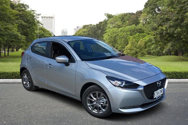 Demo Mazda 2 DJ2HA6 G15 SKYACTIV-MT Pure Paradise, 2021 Mazda 2 DJ2HA6 G15 SKYACTIV-MT Pure 6 Speed Manual Hatchback