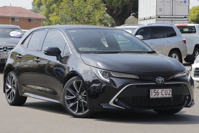 Used Toyota Corolla Mzea12R ZR Toowoomba, 2019 Toyota Corolla Mzea12R ZR Black 10 Speed Constant Variable Hatchback