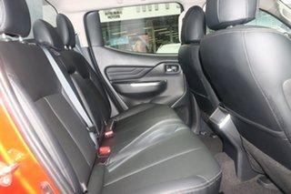 2021 Mitsubishi Triton MR MY22 GSR Double Cab Sunflare Orange 6 Speed Sports Automatic Utility
