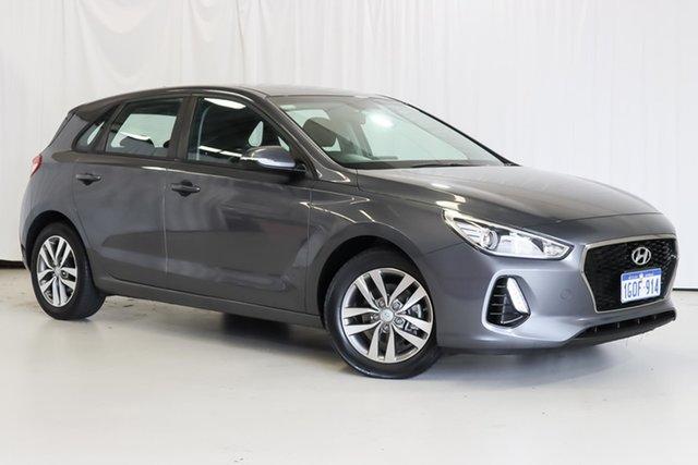 Used Hyundai i30 PD MY18 Active Wangara, 2018 Hyundai i30 PD MY18 Active Grey 6 Speed Sports Automatic Hatchback