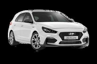 2021 Hyundai i30 PD.V4 N Line Premium Polar White 7 Speed Automatic Hatchback