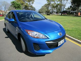 2013 Mazda 3 BL Series 2 MY13 Neo Blue 5 Speed Automatic Sedan.