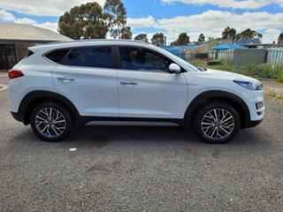2019 Hyundai Tucson TL3 MY20 Elite D-CT AWD White 7 Speed Sports Automatic Dual Clutch Wagon.