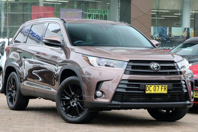 Used Toyota Kluger GSU55R GXL AWD Rosebery, 2019 Toyota Kluger GSU55R GXL AWD Bronze 8 Speed Sports Automatic Wagon