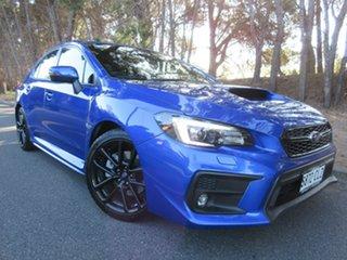 2019 Subaru WRX V1 MY20 Lineartronic AWD WR Blue Mica 8 Speed Constant Variable Sedan.