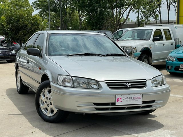 Used Toyota Camry SXV20R Advantage Limited Edition CSi Toowoomba, 2002 Toyota Camry SXV20R Advantage Limited Edition CSi Silver 4 Speed Automatic Sedan
