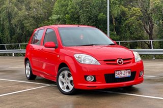 2006 Mazda 2 DY MY05 Upgrade Genki Red 4 Speed Auto Activematic Hatchback.