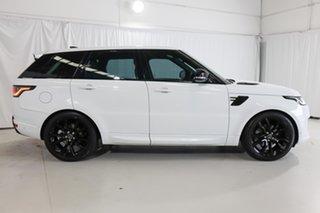 2018 Land Rover Range Rover Sport L494 18MY TDV6 SE White 8 Speed Sports Automatic Wagon.