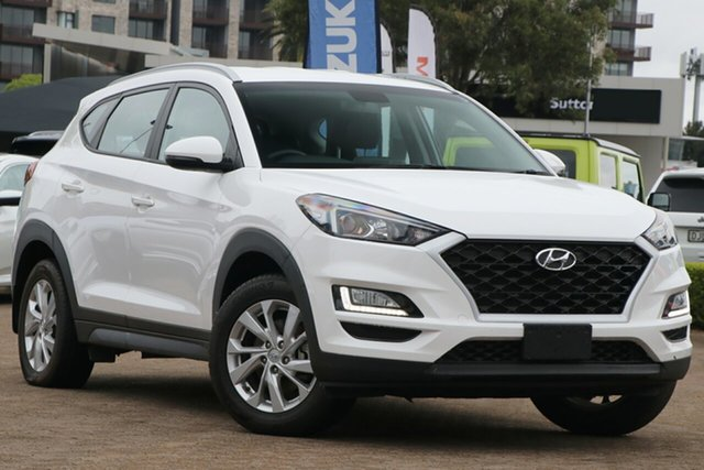 Used Hyundai Tucson TL4 MY20 Active X (2WD) Beige INT Rosebery, 2019 Hyundai Tucson TL4 MY20 Active X (2WD) Beige INT White 6 Speed Automatic Wagon