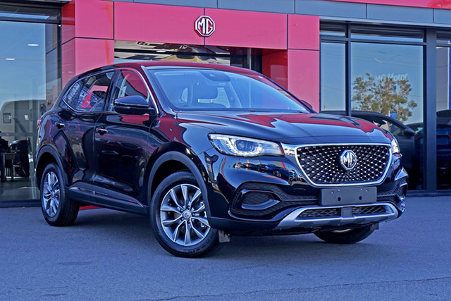 New MG HS SAS23 MY21 Core DCT FWD Springwood, 2021 MG HS SAS23 MY21 Core DCT FWD Black 7 Speed Automatic Wagon
