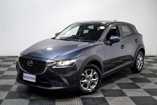 Used Mazda CX-3 DK2W7A Maxx SKYACTIV-Drive Edgewater, 2017 Mazda CX-3 DK2W7A Maxx SKYACTIV-Drive Grey 6 Speed Sports Automatic Wagon
