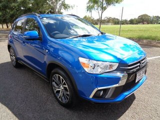 2018 Mitsubishi ASX XC MY18 LS 2WD Blue 1 Speed Constant Variable Wagon.