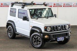 2020 Suzuki Jimny GLX (Qld) White 5 Speed Manual 4x4 Wagon.