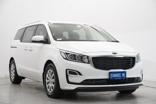 2020 Kia Carnival YP MY20 S Clear White 8 Speed Sports Automatic Wagon