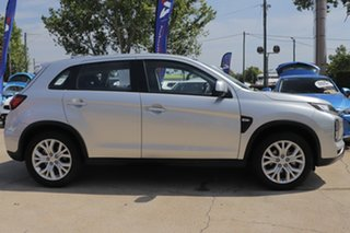 2019 Mitsubishi ASX XD MY20 ES 2WD Silver 1 Speed Constant Variable Wagon.