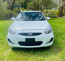 2017 Hyundai Accent RB5 MY17 Sport White 6 Speed Sports Automatic Hatchback.