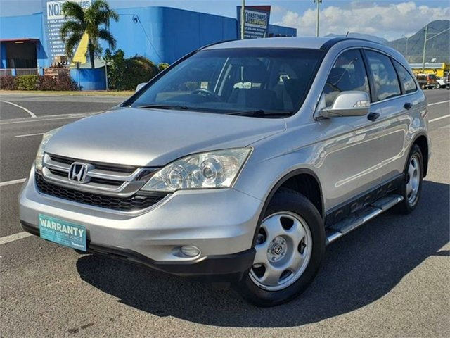 Used Honda CR-V RE MY2010 4WD Bungalow, 2010 Honda CR-V RE MY2010 4WD Silver 5 Speed Automatic Wagon