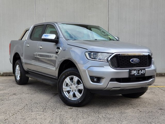 Used Ford Ranger PX MkIII 2021.25MY XLT Oakleigh, 2021 Ford Ranger PX MkIII 2021.25MY XLT Silver 6 Speed Sports Automatic Double Cab Pick Up