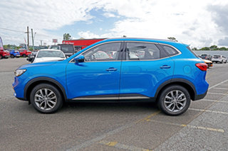2021 MG HS SAS23 MY21 Vibe DCT FWD Blue 7 Speed Sports Automatic Dual Clutch Wagon