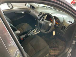 2010 Toyota Corolla ZRE152R Ascent Grey & Black 4 Speed Automatic Sedan