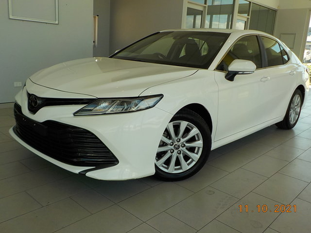 Used Toyota Camry ASV70R Ascent Garbutt, 2019 Toyota Camry ASV70R Ascent White 6 Speed Sports Automatic Sedan