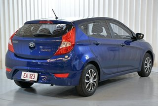 2016 Hyundai Accent RB4 MY16 Active Blue 6 Speed Constant Variable Hatchback