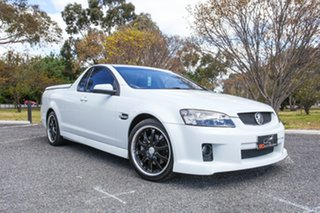 2009 Holden Ute VE MY10 SS V White 6 Speed Sports Automatic Utility.