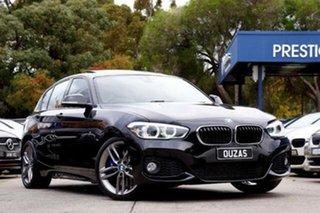 2016 BMW 1 Series F20 LCI 125i M Sport Black 8 Speed Sports Automatic Hatchback.