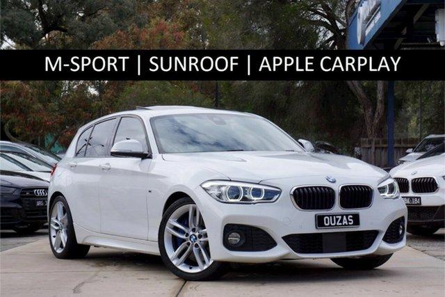 Used BMW 1 Series F20 LCI 125i M Sport Balwyn, 2016 BMW 1 Series F20 LCI 125i M Sport Alpine White 8 Speed Sports Automatic Hatchback